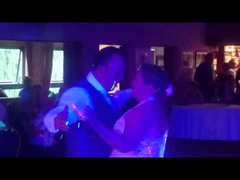 jamie pugh first dance at Ystrad Mynach dance hall