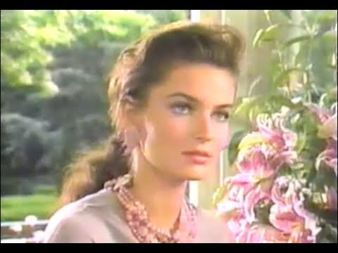1988 Estee Lauder Paulina Porizkova Frederick & Nelson GWP commercial 15Aug88