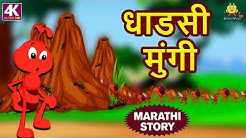 Sasa Ani Salu | Rabbit & Hedgehog | Animal Stories Marathi