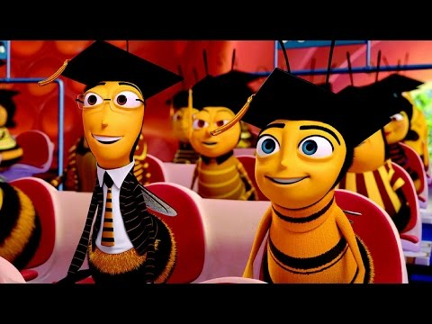 The entire bee movie in 1 second but slowed down to 10 of the most beautiful seconds of your life