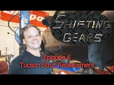 SG6 Tucson Strut Replacement