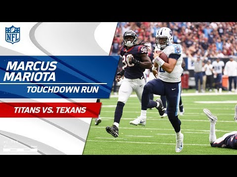 Marcus Mariota Shows Off His Wheels on Crucial TD Drive! | Titans vs. Texans | NFL Wk 4 Highlights
