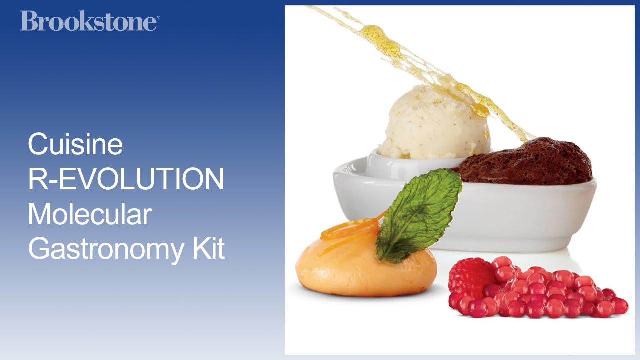 Cuisine R-EVOLUTION Molecular Gastronomy Kit - YouTube