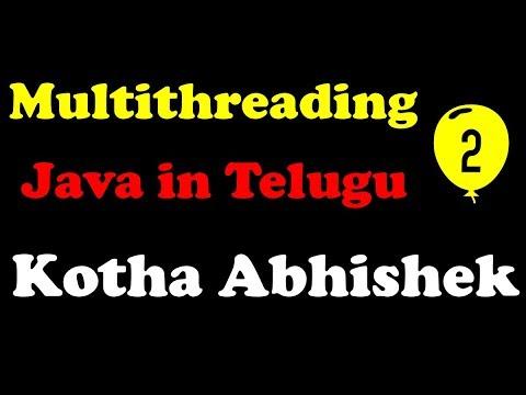 multithreading-in-java-part-2-in-telugu-by-kotha-abhishek