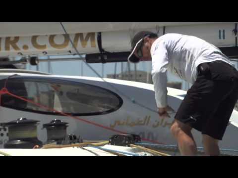 2013 Oman Air-Musandam in Lisbon: Dock out