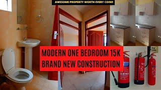 New Construction || ONE BEDROOM APARTMENT TOUR 2020 || MODERN APARTMENT
