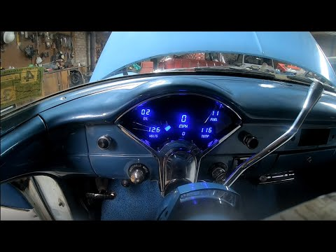 Intellitronix Digital Dash Install In 1955 Chevy