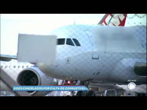 Greve deixa 11 aeroportos sem combustível no Brasil
