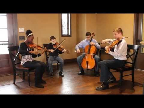 Simple Gifts- Solo, duo, trio and quartet demonstration- Brio String Quartet