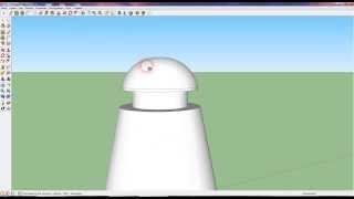 Уроки Google SketchUp - Рисуем опору линии передач (http://farmmod.blogspot.ru/)