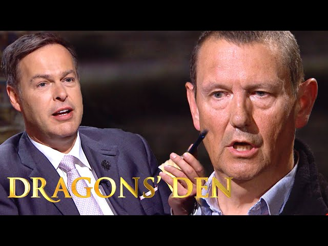 Peter Works out Commercially Sensitive Figures in SECONDS | Dragons Den