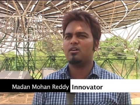 LOW COST SOLAR PARABOLIC DISH CONCENTRATOR   MR G MADAN MOHAN REDDY