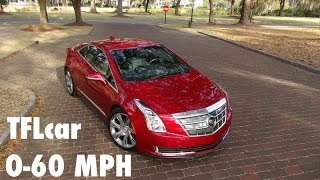 2014 Cadillac ELR 0-60 MPH Review: A Chevy Volt by another name?