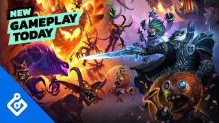 New Gameplay Today – Hearthstone Battlegrounds