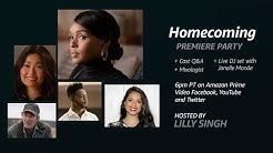 Lilly Singh Hosts Homecoming Virtual Premiere w/ Janelle Monáe