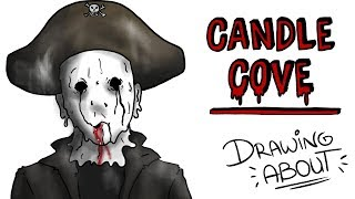 CANDLE COVE | Draw My Life creepypasta thumbnail