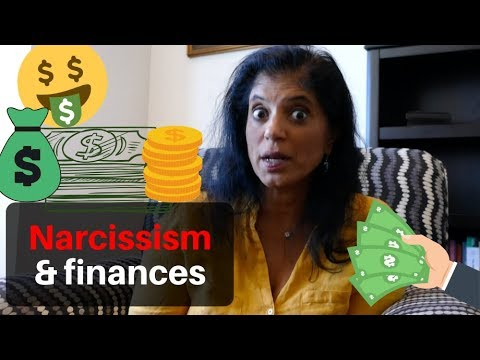Finances and narcissism