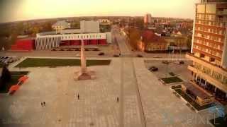Marijampolė region aerial photography