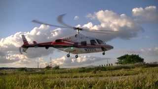 スロー実機風 カシオペア ベル222 スケールラジコンヘリ 2013/10/6.