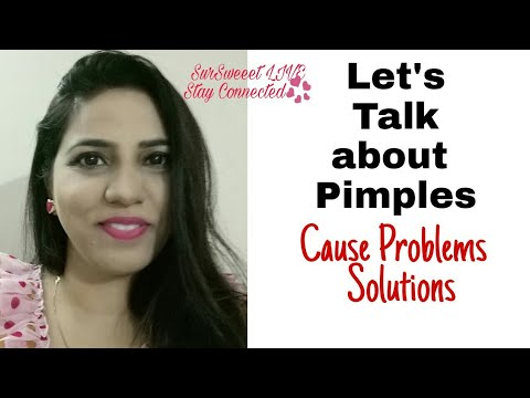Let's Talk About Pimples   Cause & Solution   घरेलु इलाज   SurSweeet live very Saturday 9 pm