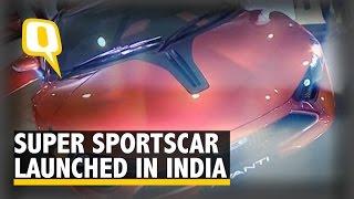 Ferrari Rival Super Sports Car DC Avanti Launched in India