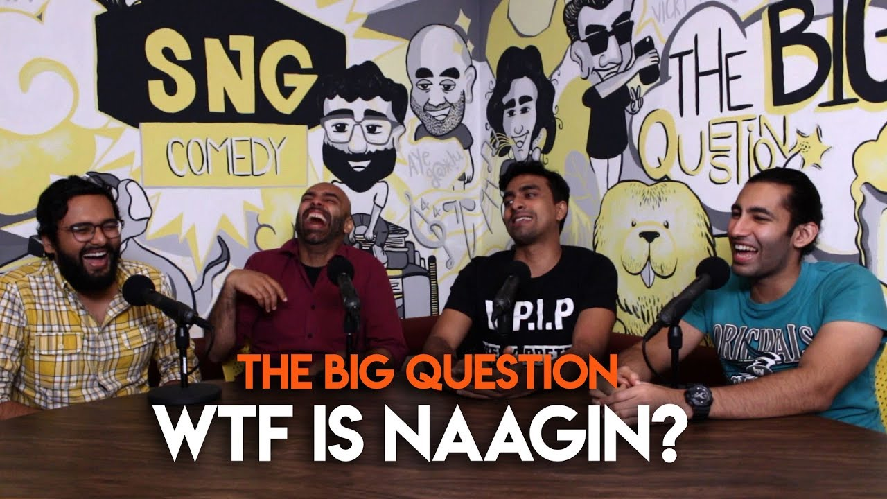 SnG: WTF Is Naagin? | The Big Question Season 2 Ep 4 | Video Podcast