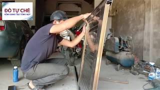 ĐTC - Hướng dẫn làm cửa nhôm chỉ cần máy khoan và máy cắt cầm tay