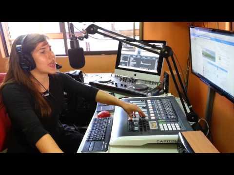 Locución en Radio Canal 95