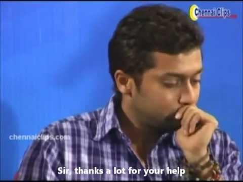 Emotional Surya at Educational Trust Meeting English s/t