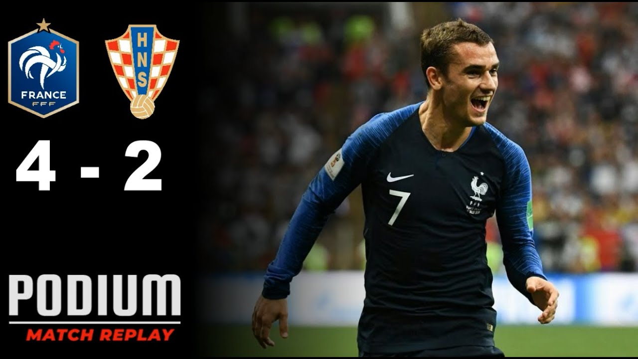 France Croatie 4 2 Match Replay Avec Le Son Tf1 Youtube