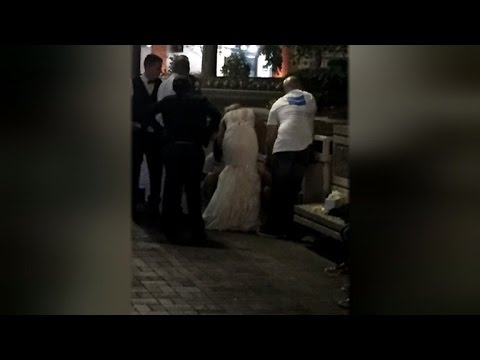 Bride Saves Unconscious Stranger's Life By Giving CPR In Wedding Gown