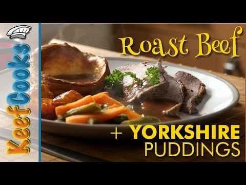 Roast Beef & Yorkshire Puddings | Traditional British Sunday Roast