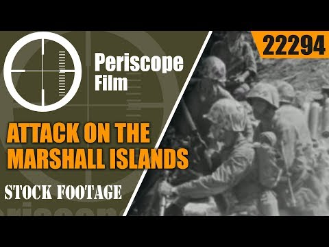 ATTACK ON THE MARSHALL ISLANDS  BATTLE OF TARAWA  WWII 22294