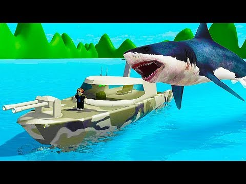 SHARK BITE - MOST EXPENSIVE Military Ship! // Roblox
