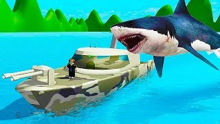 SHARK BITE - MOST EXPENSIVE Nave militare! Roblox