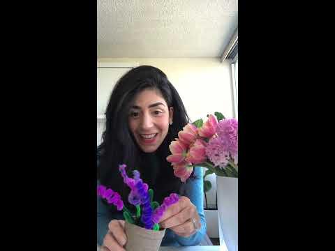 How to make a sonbol (Hyacinth) by Aida joon!