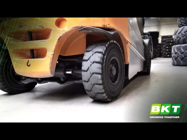 BKT Solid Tires || Maglift