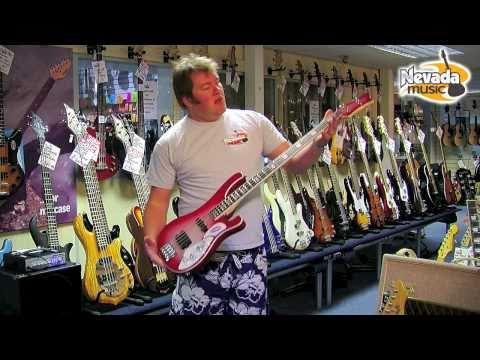 Schecter Stargazer 4 Bass Guitar in Crimson Ghost - Nevada Music UK