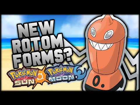 NEW ROTOM FORMS In Pokemon Sun And Moon!