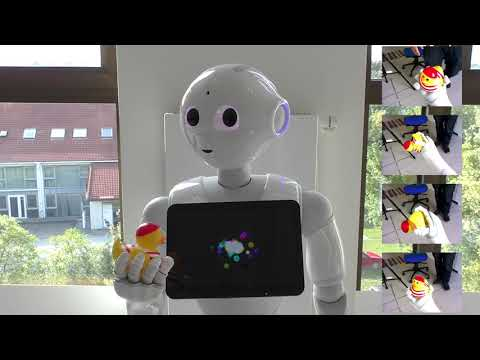 Human-Assisted Learning of Object Models through Active Object Exploration