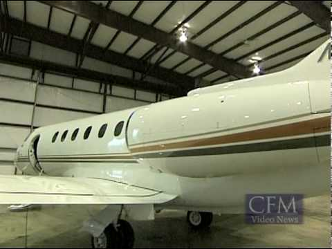 Hawker 900XP at CFM for Charter