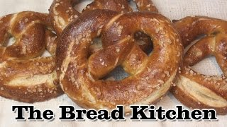 Bake Your Own Soft German-Style Pretzel (Laugenbrezeln) Recipe in The Bread Kitchen