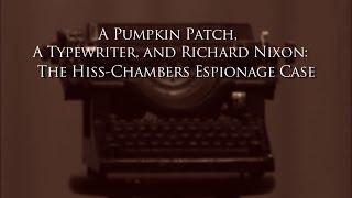 A Pumpkin Patch, A Typewriter, And Richard Nixon - Episode 19