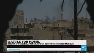 "Battle for Mosul: ""The loss of Al-Nuri Mosque is huge for residents of Mosul"""