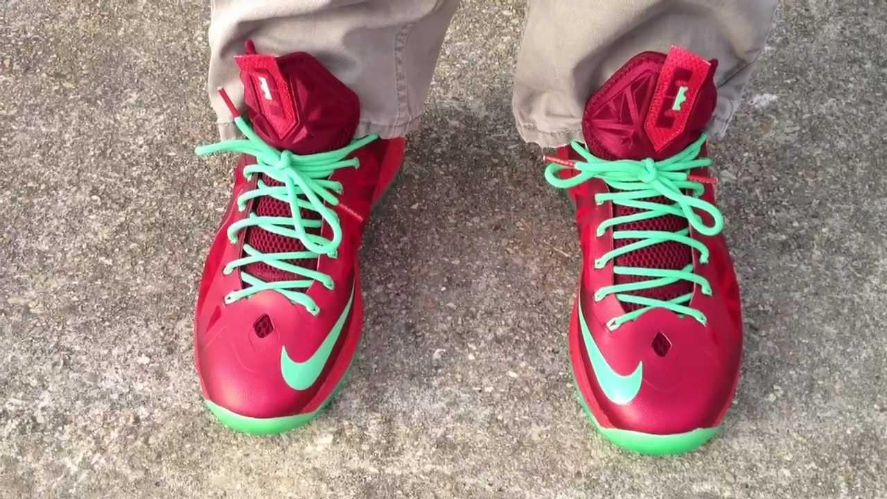 best service 38d05 1cf1d Nike Lebron X 10 nike lebron 10 xmas ...