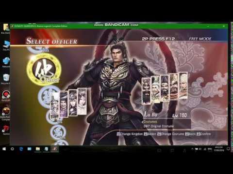 Hướng dẫn cài đặt game Dynasty Warriors 8 Xtreme Legends