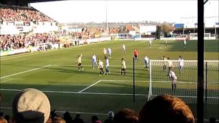 BRISTOL ROVERS 3 V BURTON ALBION 0.....2/March/2013