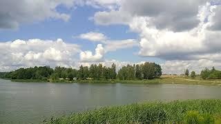 Озеро у д.Дягильно за г.Дзержинск. Видеосюжет. Рыбалка.