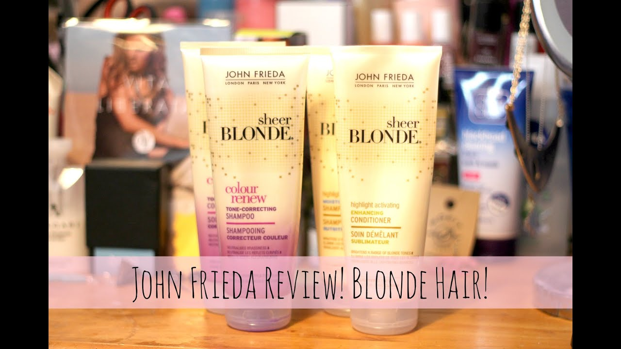 John frieda tone correcting highlight activating products john frieda tone correcting highlight activating products review blonde hair ccuart Choice Image