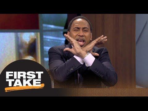 Stephen A., Ryan Clark debate Josh Norman's comments on Sam Darnold   First Take   ESPN
